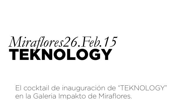 """El cocktail de inauguración de """"TEKNOLOGY"""" en la Galeria Impakto ..."""