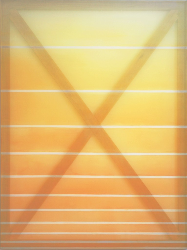 "Rebecca Ward ""Tangerine"", 2015, 152.5x114cm"