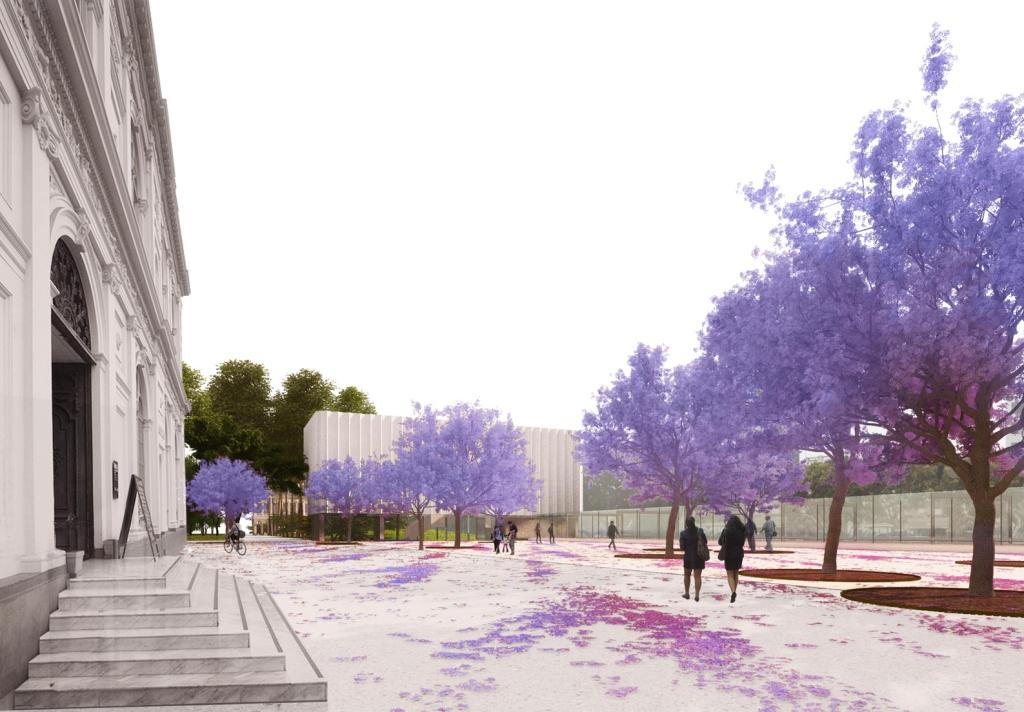 Bosque de las jacarandas por Burgos & Garrido Arquitectos y Llama Urban Design
